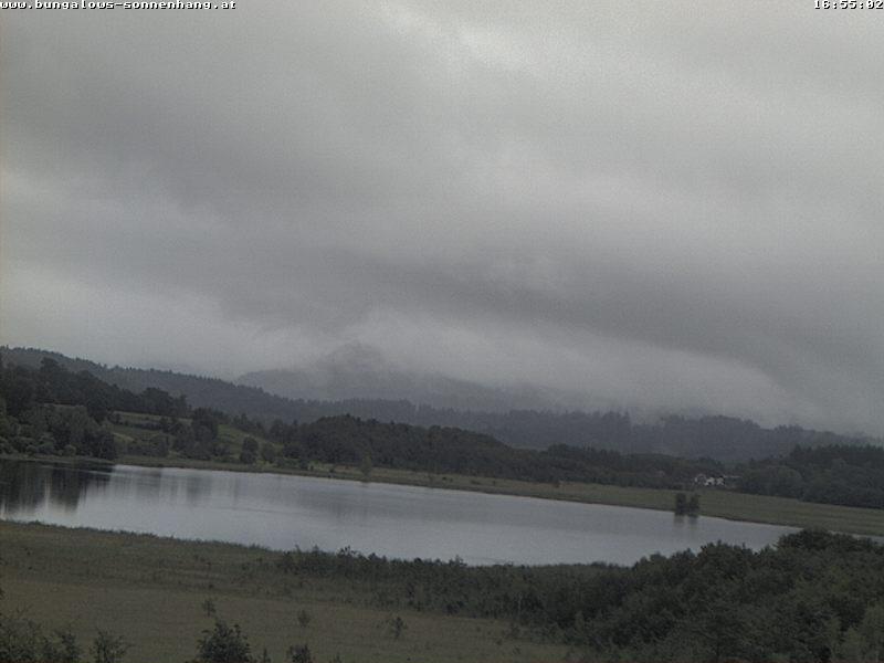 Live Webcam mit Blick auf den Turnersee von den Bungalows Sonnenhang