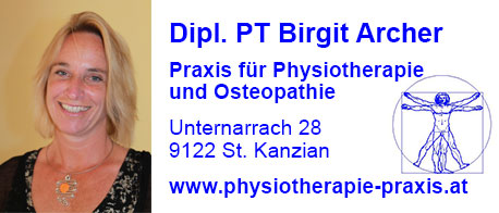 Dipl. PT Birgit Archer - Practice for physiotherapy und osteopathy